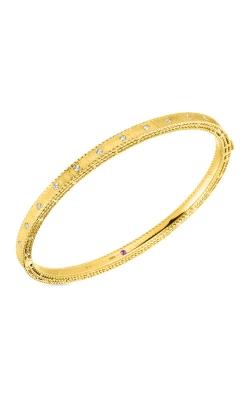 Roberto Coin 18kt Yellow Gold Princess Bangle With Diamonds 7771854AYBAX product image