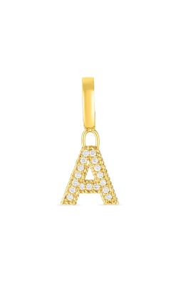 Roberto Coin 18k Gold & Diamond Princess Letter 'A' Charm 7772087AYPDX product image
