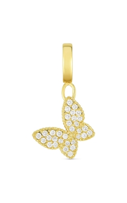 Roberto Coin 18k Gold & Diamond Princess Butterfly Charm 7772087AYPDX product image