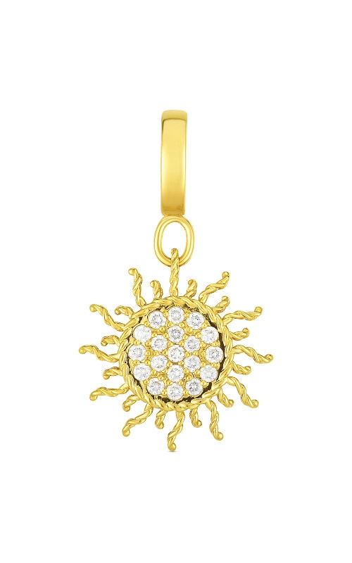 Roberto Coin 18k Gold & Diamond Princess Sun Charm 7772089AYPDX product image