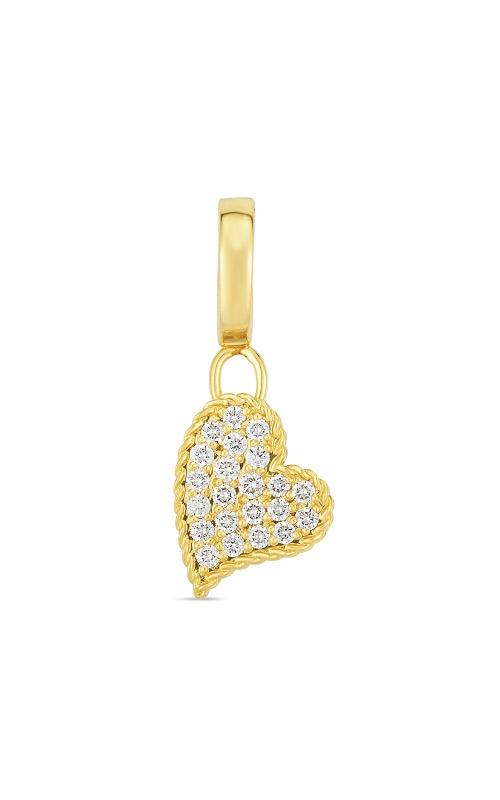 Roberto Coin 18k Gold & Diamond Princess Heart Charm 7772097AYPDX  product image