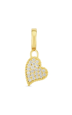 Roberto Coin 18k Gold & Diamond Princess Heart Charm 7772097AYPDX  product image