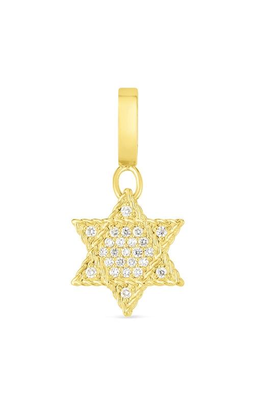 Roberto Coin 18k Gold & Diamond Princess Star Of David Charm 7772102AYPDX product image