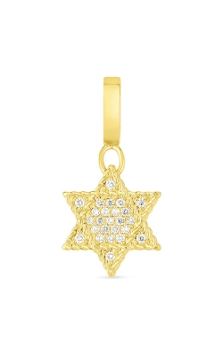 Roberto Coin 18k Gold & Diamond Princess Star Of David Charm 7772102AYPDX product image