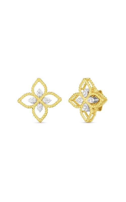 Roberto Coin 18k Principessa Small Diamond Stud Earring 7772717AJERX product image