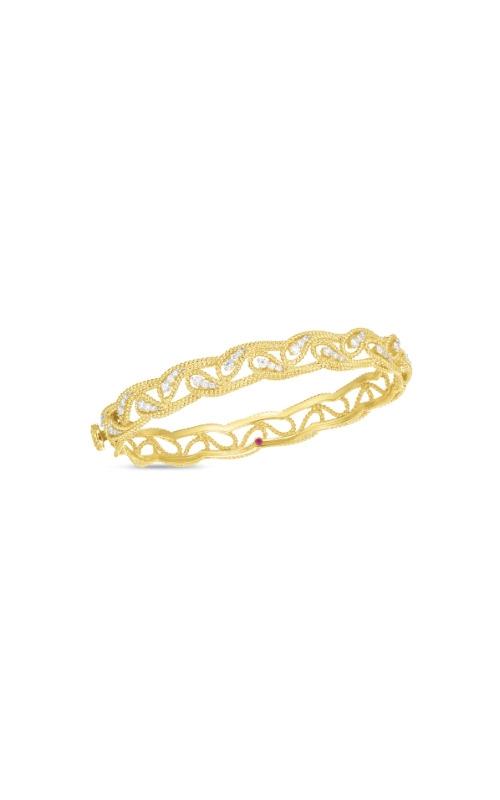 Roberto Coin 18k Yellow Gold .68ctw Diamond Byzantine Barocco Bangle 7772781AJBAX  product image