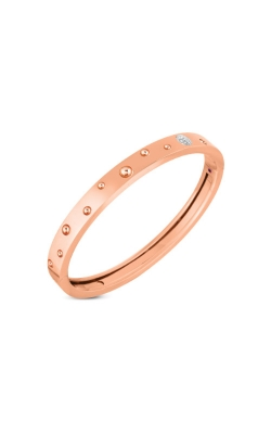 Roberto Coin 18k Gold & Dia Accent Pois Moi Luna Thin Bangle 8882504AHBAX product image