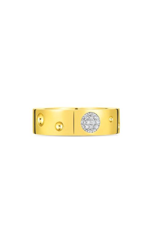 Roberto Coin 18k Yellow Gold & Diamond Pois Moi Luna Ring 8882504AJ65X product image