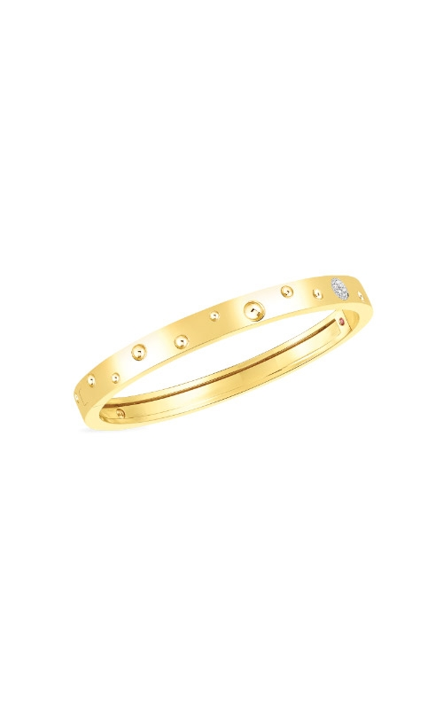 Roberto Coin 18k Gold & Diamond Accent Pois Moi Luna Thin Bangle 8882504AJBAX product image