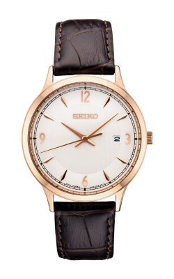 Seiko Essentials Men's Gold Tone Solar Watch SGEH88 product image