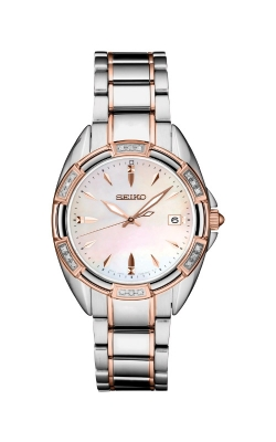 Seiko Ladies Diamonds Two Tone Watch SKK878 product image