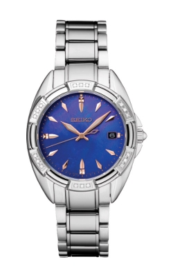 Seiko Ladies Diamonds Solar Watch SKK881 product image