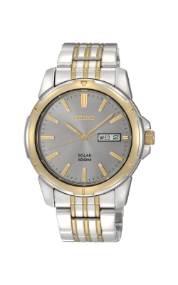 Seiko Essentials Solar Watch SNE098 product image