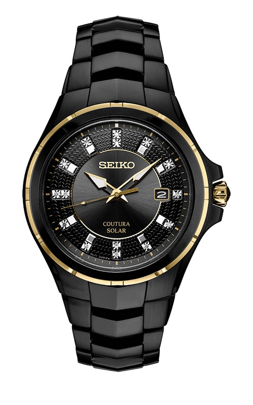 Seiko Coutura Diamond Solar Watch SNE506 product image