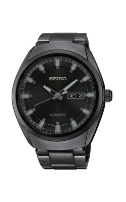 Seiko Men's Black Automatic Watch SNKN43 product image