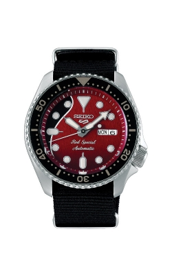 Seiko 5 Sports Limited Edition x Brian May Red Special Automatic Watch SRPE83 product image