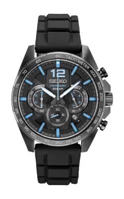 Seiko Essentials Men's Black Chronograph SSB353 product image