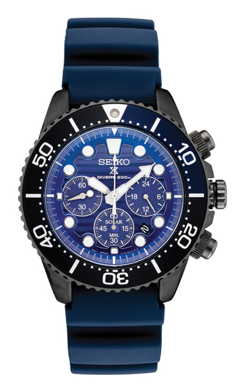 Seiko Prospex Special Edition Solar Chronograph Diver SSC701 product image