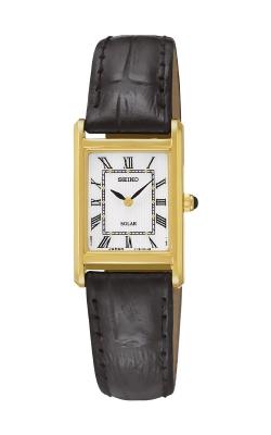 Seiko Essentials Ladies Solar Gold Tone Watch SUP250  product image