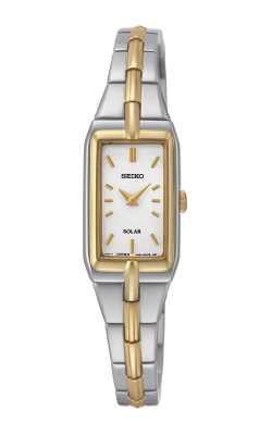 Seiko Essentials Ladies Solar Two-Tone SUP272 product image