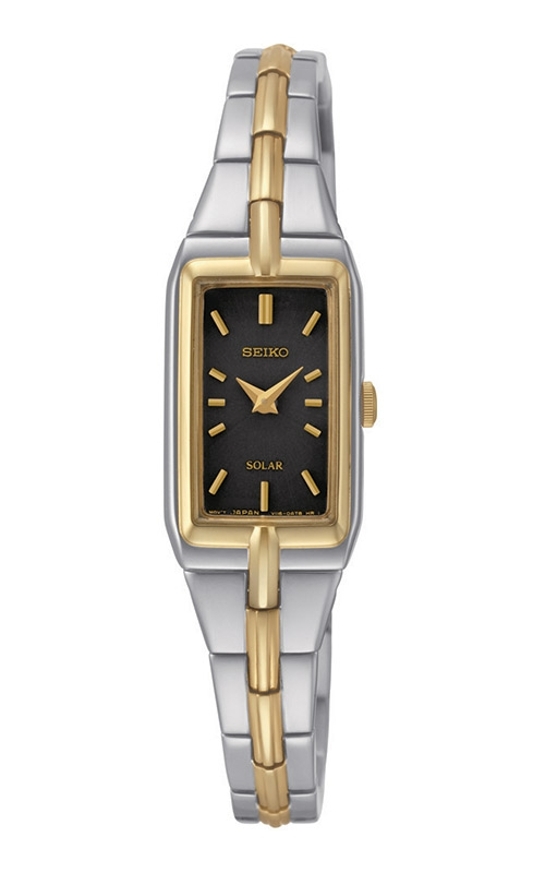 Seiko Essentials Ladies Solar Two-Tone Watch SUP274 product image