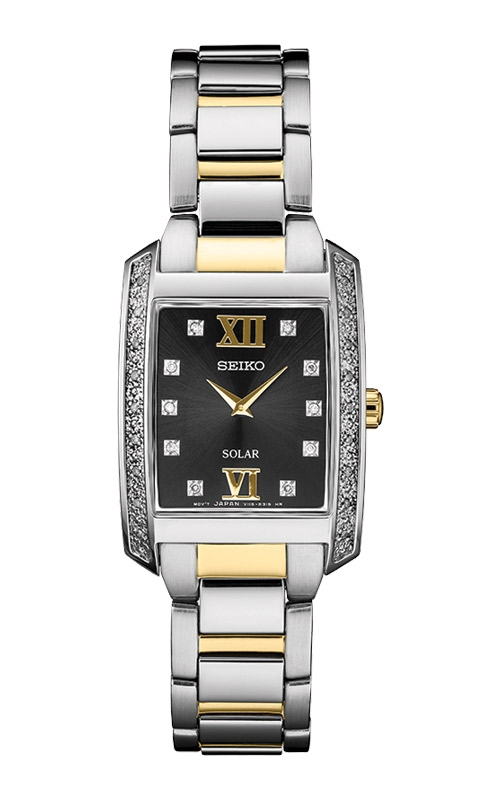 Seiko Ladies Diamonds Solar Watch SUP405 product image