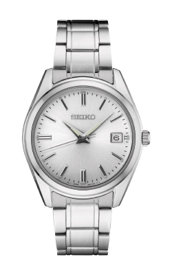 Seiko Essentials Men's Silver Tone Watch SUR307 product image