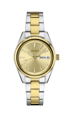 Seiko Essentials Ladies Stainless Steel Quartz Watch SUR354 product image