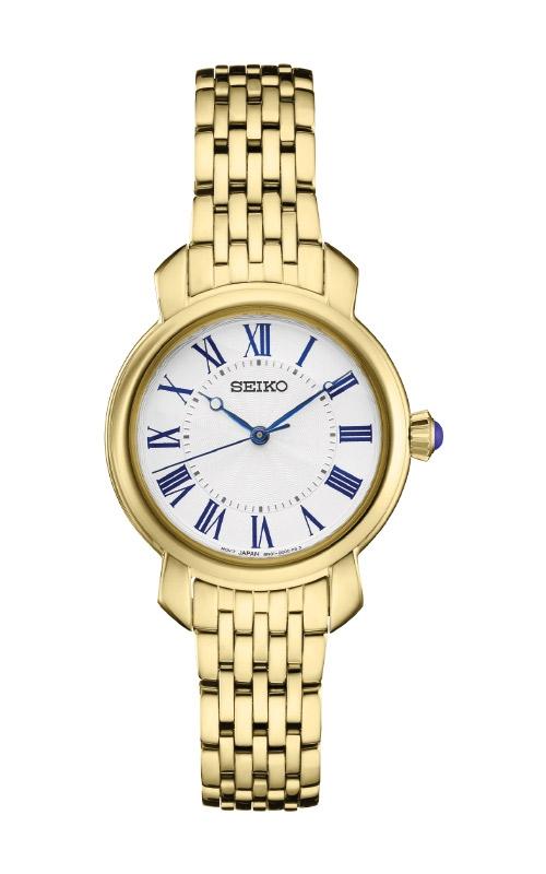 Seiko Ladies Diamonds Gold Tone Watch SUR626 product image