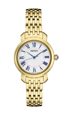Seiko Ladies Diamonds Gold Tone Watch SUR626 product image