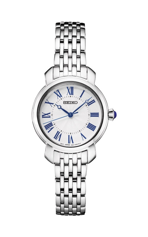 Seiko Ladies Diamonds Silver Tone Watch SUR629 product image