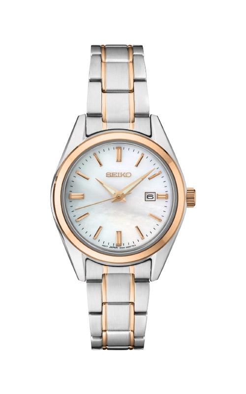 Seiko Ladies Diamonds Two Tone Watch SUR634 product image