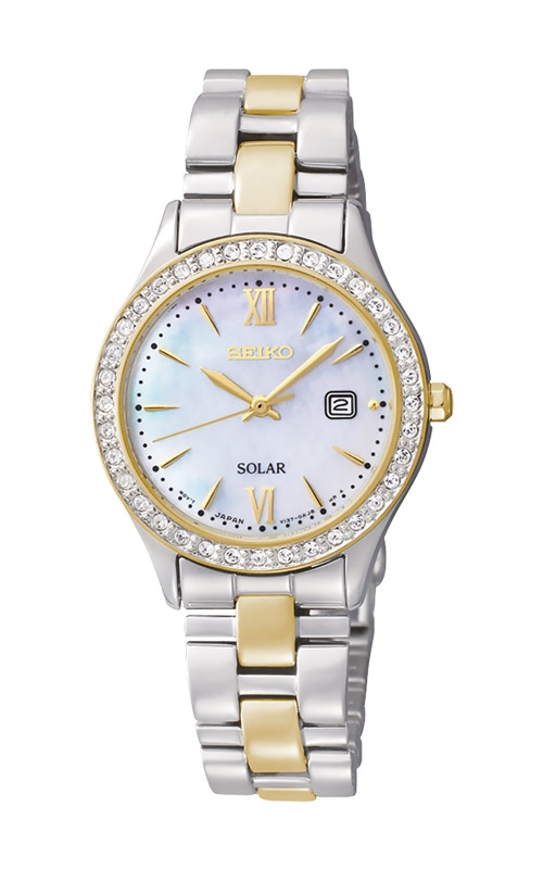 Seiko Essentials Ladies Crystal Solar Watch SUT074 product image