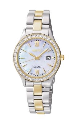 Seiko Essentials Ladies Crystal Solar Watch SUT074 product image