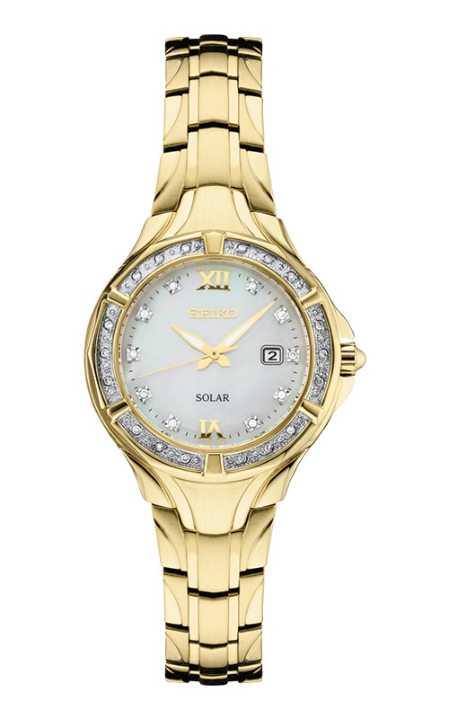 Seiko Ladies Diamonds Solar Watch SUT380 product image