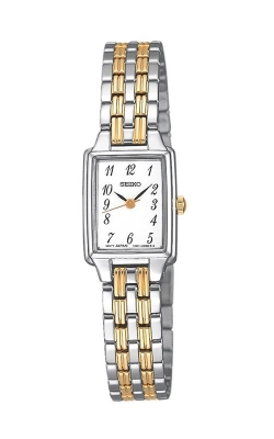 Seiko Essentials Ladies Two-Tone Watch SXGL61 product image