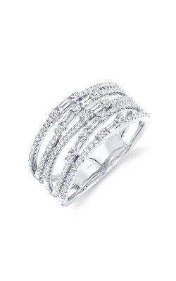 Shy Creation 14k White Gold .67ctw Diamond Ring SC36213806V2 product image