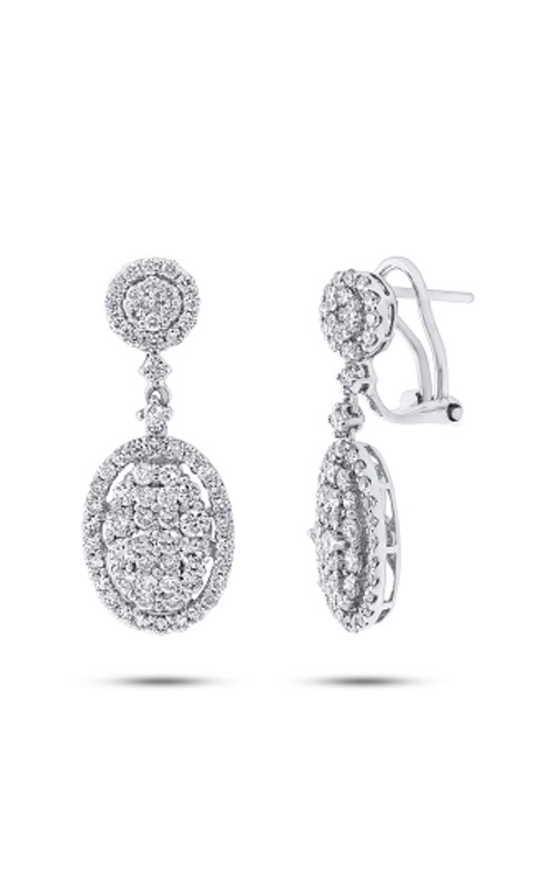 Shy Creation 18k White Gold 2.44ct Diamond Earring SC37214522 product image