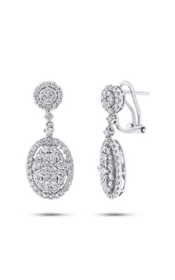 Shy Creation 18k White Gold 2.44ct Diamond Earring SC37214522 product image