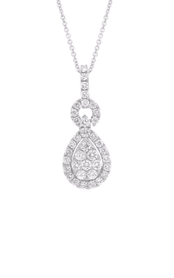 Shy Creation 14k White Gold 0.71ct Diamond Pendant SC37215522V2 product image