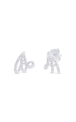 Shy Creation 14k White Gold 0.26ct Diamond Earring SC55001372-5.5 product image
