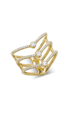 Shy Creation 14k Yellow Gold 0.30ct Diamond Fashion Ring SC55001617 product image