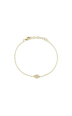 Shy Creation 14k Yellow Gold .06ctw Diamond Bracelet SC55002980 product image