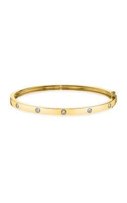 Shy Creation 14k Yellow Gold 0.38ct Diamond Bangle SC55004067ZS product image