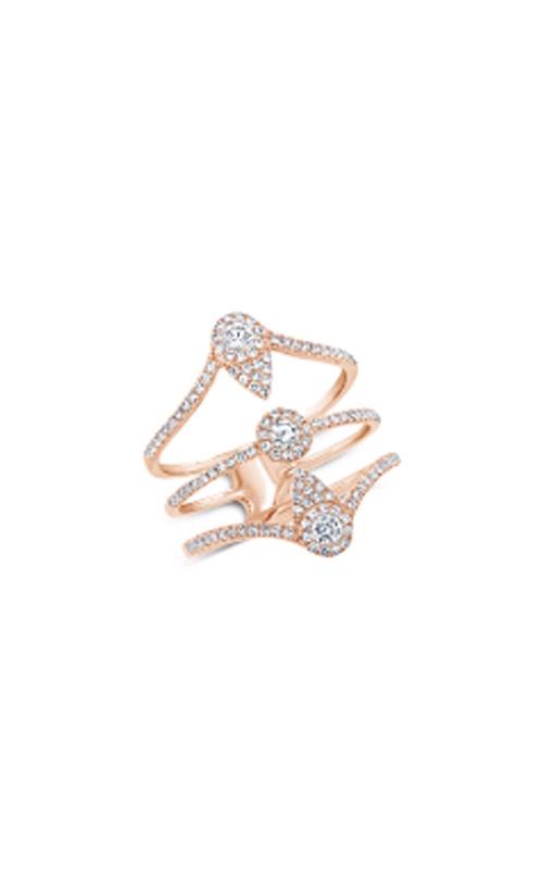 Shy Creation 14k Rose Gold 0.57ctw Brilliant Diamond Ring SC55007767 product image