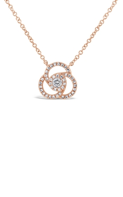 Shy Creation 14k Rose Gold 0.20ct Diamond Necklace SC55008032 product image