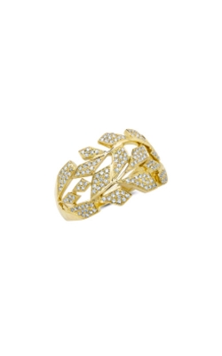 Shy Creation 14k Yellow Gold 0.33ctw Brilliant Pave Diamond Band SC55008703 product image