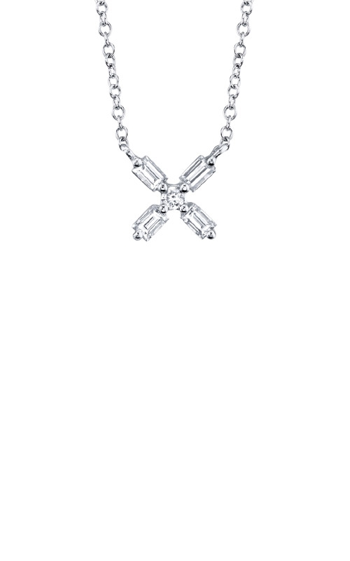 Shy Creation 14k White Gold .17ctw Diamond Necklace SC55008918 product image