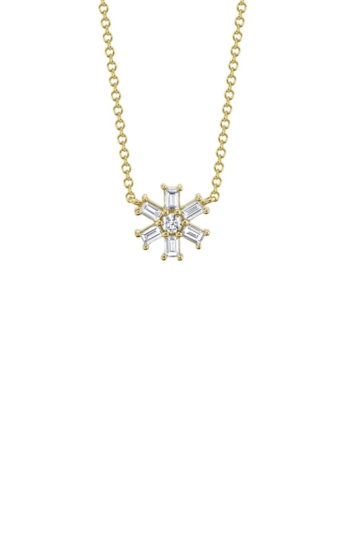 Shy Creation 14k Yellow Gold .25ctw Diamond Necklace SC55009248 product image