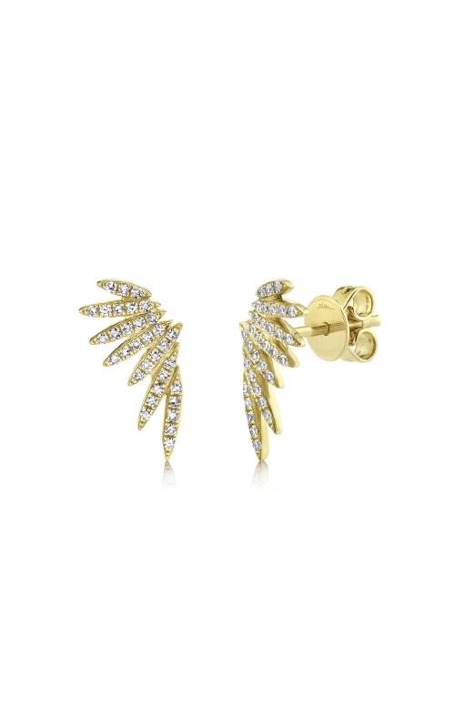Shy Creation 14k Yellow Gold .21ctw Diamond Wing SC55009921 product image